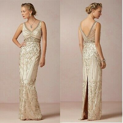 bhldn maxine champagne old hollywood gats sue wong wedding Sue Wong Wedding Dress