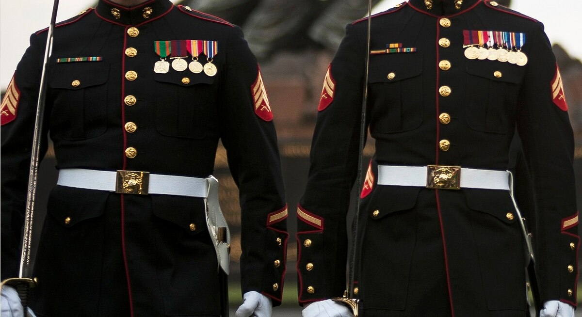bride kicks marine out of wedding for wearing his dress blues Marine Dress Blues Wedding