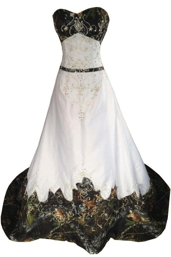 camo wedding dress camo wedding dresses camouflage Pictures Of Camo Wedding Dresses