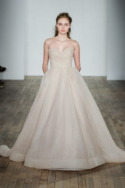 classic ball gown wedding dress Lazaro Wedding Dress