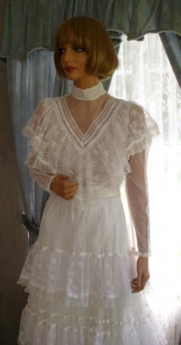 copy of my wedding dress i wore in 1984 gunny sack Gunny Sack Wedding Dress