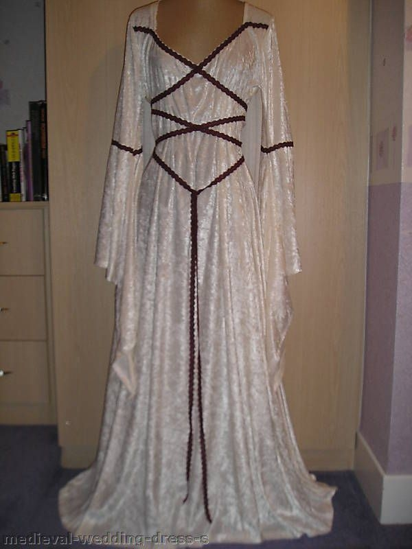 details about uk maid marian medieval pagan wedding dress Maid Marian Wedding Dress