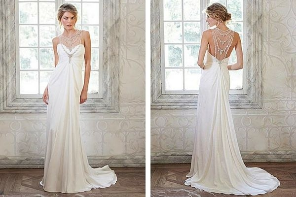 elegant beach wedding dress maggie sottero deandra Maggie Sottero Beach Wedding Dresses