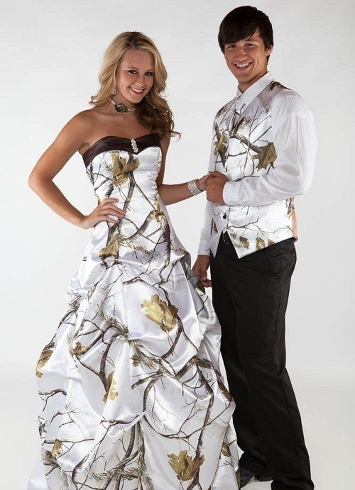 gallery for camo prom dresses and tux camo prom dresses Camo Wedding Dresses And Tux