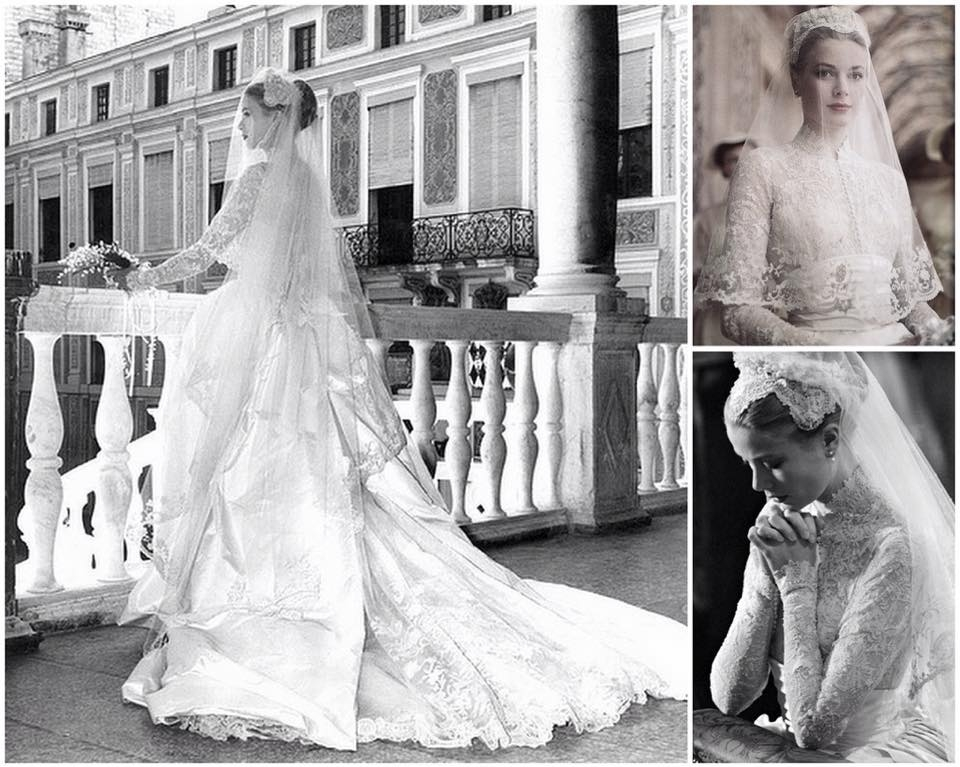 grace kelly wedding dress Grace Kellys Wedding Dress
