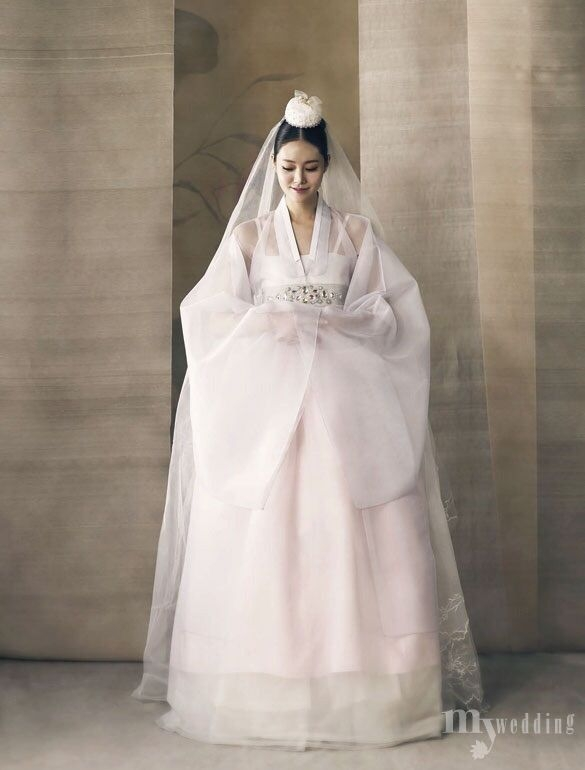 hanbok korean traditional clothesdress Hanbok Wedding Dress