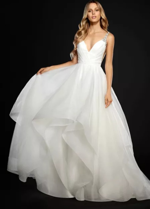hayley paige dare 6704 wedding dress on sale 62 off Hayley Paige Wedding Dresses