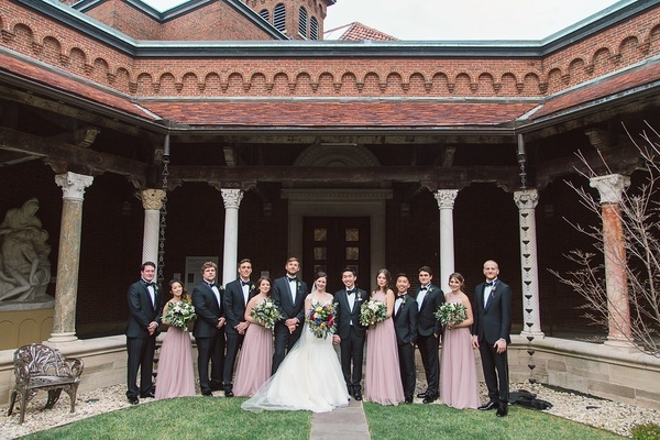 indoor wedding with cultural and floral elements in dayton Wedding Dresses Dayton Ohio