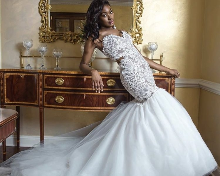 jean ralph thurin bridal fashion designer my afro caribbean African American Wedding Dress Designers