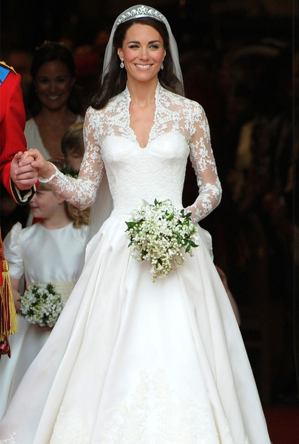 kate middleton news the duchess had a second wedding dress Kate Middleton Wedding Dress Pretty
