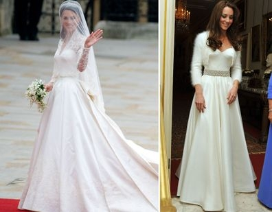 kate middletons second wedding dress was just as beautiful Kate Middleton Reception Wedding Dress