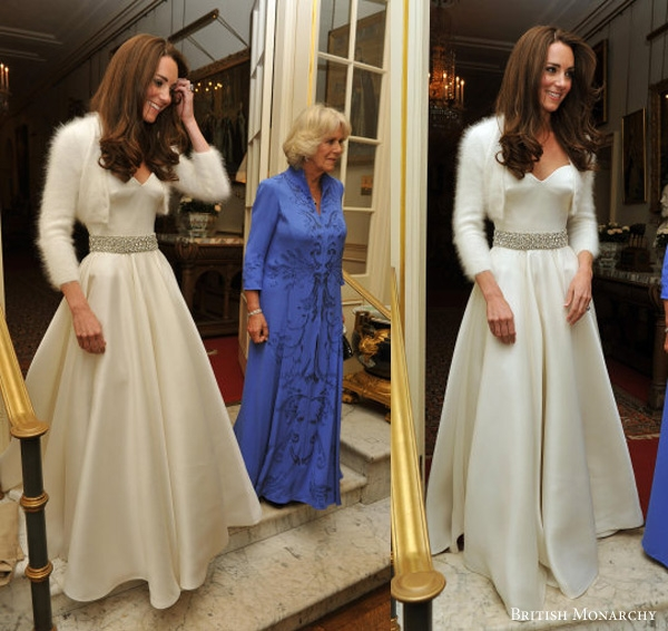 kate middletons second wedding dress what kate wore Kate Middleton Reception Wedding Dress