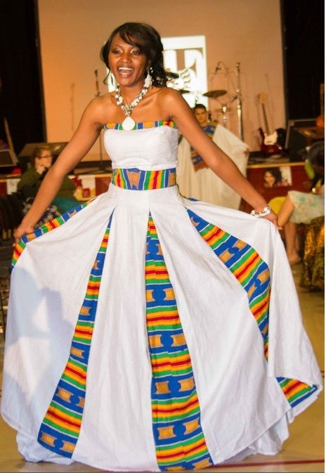 kente wedding gown tekay designs in 2020 african dress African American Wedding Dress Designers