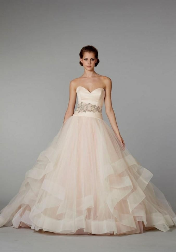 lazaro sherbert ball gown lazaro style 3250 wedding dress on sale 61 off Lazaro Wedding Dress