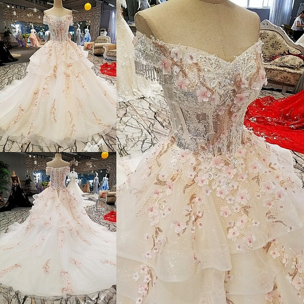 ls00293 off shoulder flower afghan wedding dress styles lace up mother of the bride beach wedding dress plus wedding dresses sale wedding dresses from Afghan Wedding Dresses