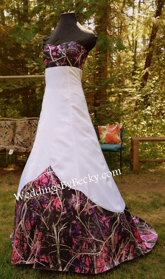 muddy girl camo wedding dress sierra made only in the usa Camo Wedding Dresses Pictures