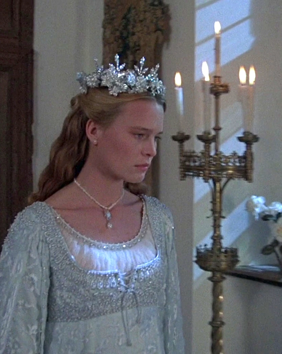 robin wright as princess buttercup in the princess bride Princess Buttercup Wedding Dress