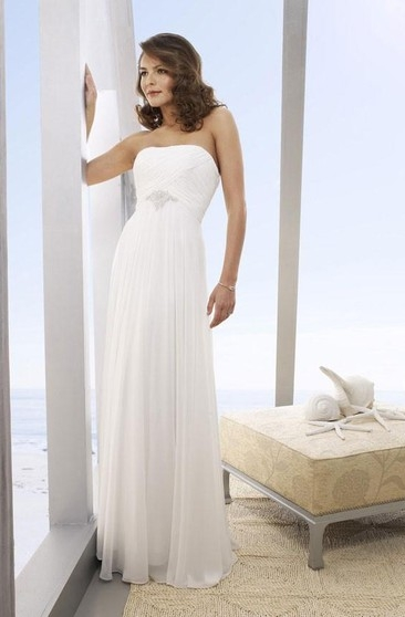 second time marriage casual wedding gown casual 2nd bridal Wedding Dresses For 2nd Marriages