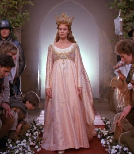 so hollywood chic the 15th century the renaissance period Princess Buttercup Wedding Dress