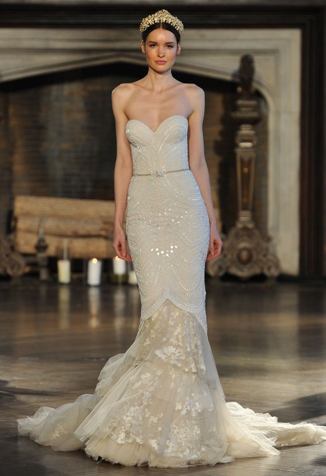 the regal and romantic 2015 bridal collection from inbal Inbal Dror Wedding Dress s