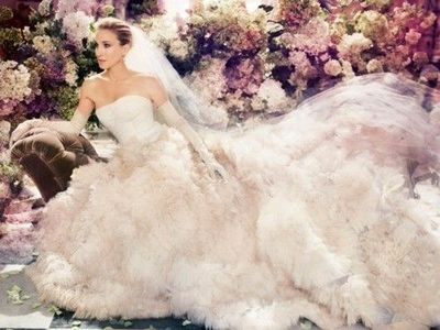 this is what i call a wedding gown carrie bradshaw wedding Carrie Bradshaw Wedding Dresses