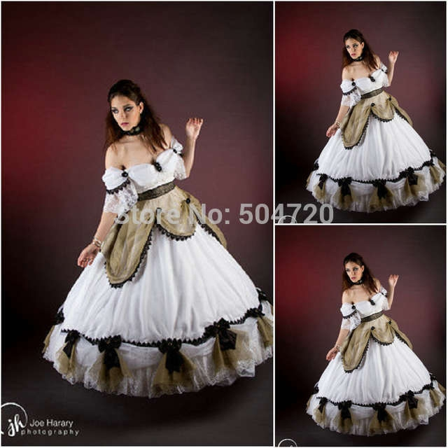 us 1680 custom mader 717 vintage costumes 1860s civil war southern belle ball wedding dressgothic lolita dress victorian dresses on aliexpress Southern Belle Wedding Dresses