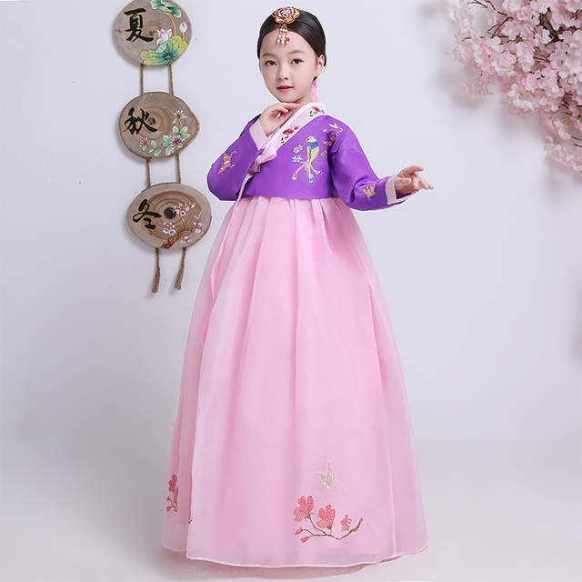 us 378 46 offhanbok korean national costume korean traditional dress cosplay korean hanbok wedding dress performance clothing hanbok aa4269 in Hanbok Wedding Dress