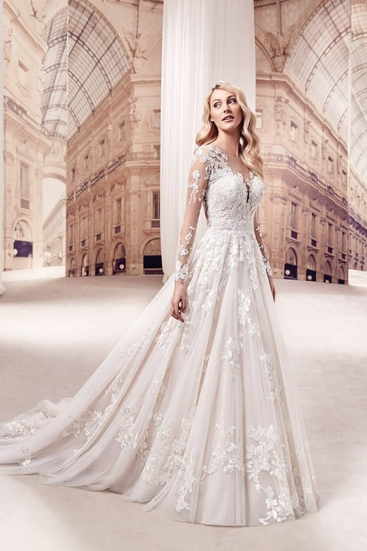 wedding dress md269 eddy k bridal gowns designer wedding Eddy K Wedding Dresses