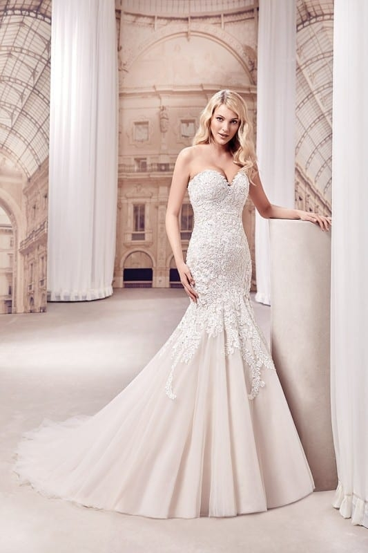 wedding dress md293 eddy k bridal gowns designer wedding Eddy K Wedding Dresses