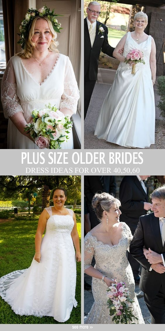 wedding dresses for older brides plus size midway media Wedding Dresses For Plus Size Older Brides