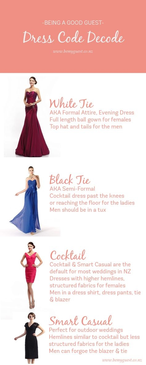 whats the dress code for weddings wedding dress code Wedding Dress Code Wording