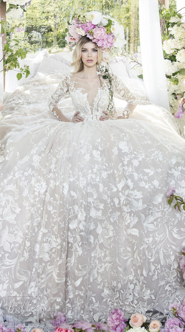 yumi katsura spring 2019 wedding dresses life is a garden Yumi Katsura Wedding Dress