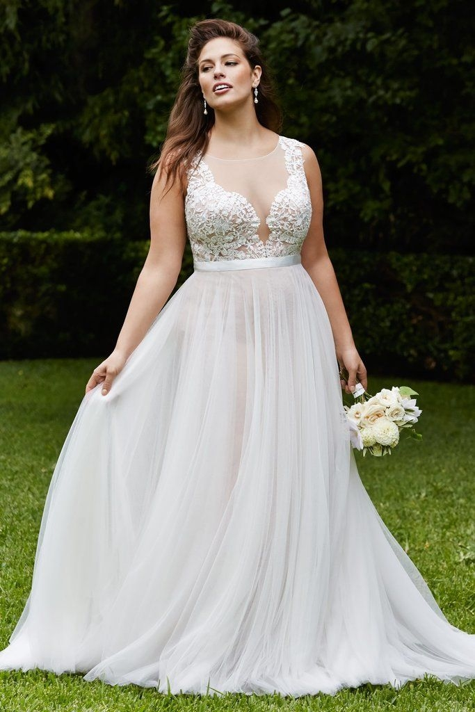 20 lovely and affordable wedding dresses for ladies with Wedding Dresses Curvy Figure