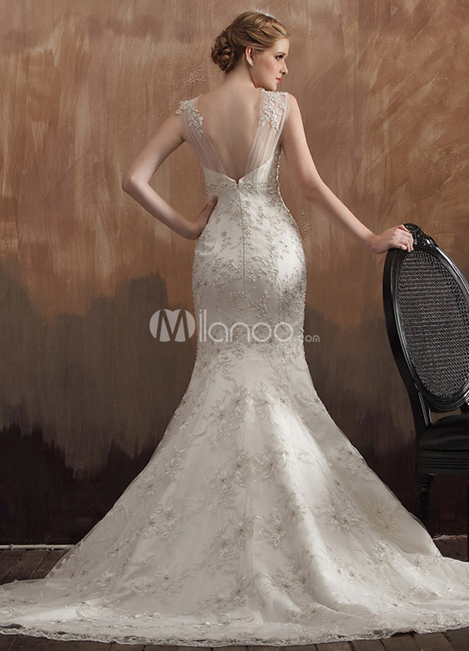 beautiful and affordable bridal gowns milanoo belle the Www.Milanoo.Com Wedding Dresses