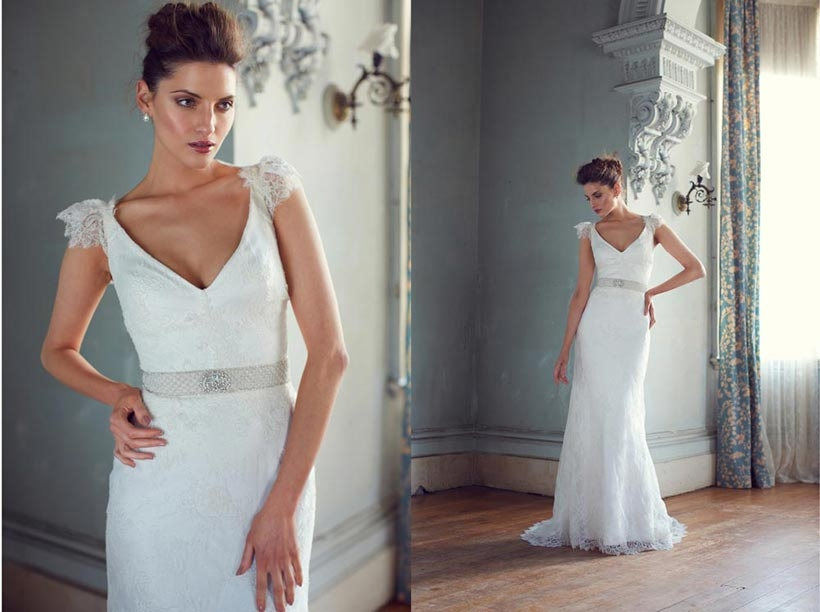 introducing karen willis holmes 2013 collection modern wedding Karen Willis Holmes Wedding Dresses