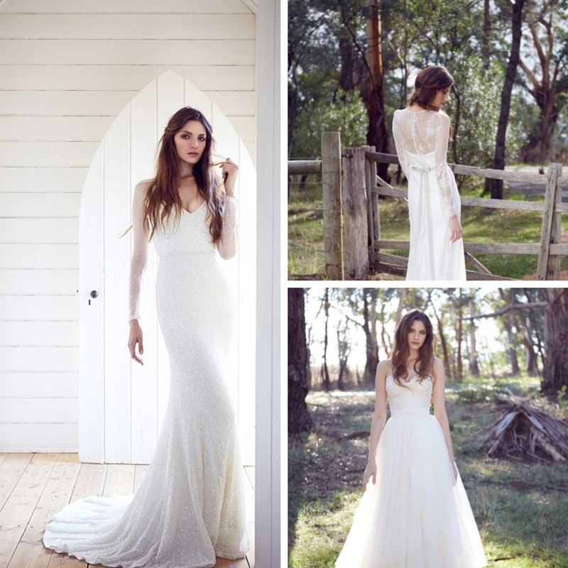 stunning silhouettes from karen willis holmes chic vintage Karen Willis Holmes Wedding Dresses