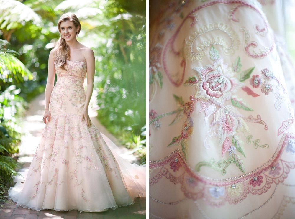 the kyoto costume institute pink wedding dresses wedding Lazaro Pink Wedding Dress
