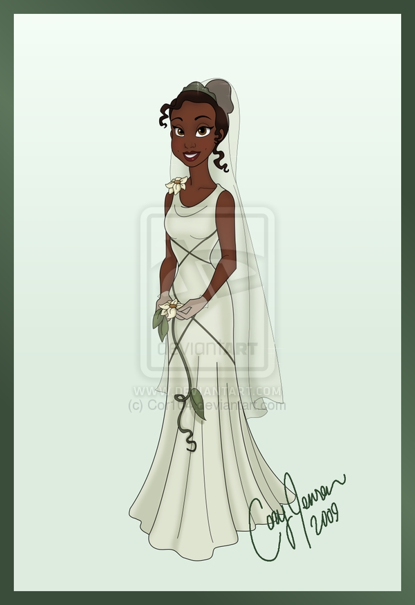 tianas wedding dress cor104 on deviantart tiana Princess Tiana Wedding Dress