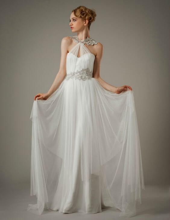 15 most breathtaking goddess wedding dresses gemgrace Grecian Goddess Wedding Dress