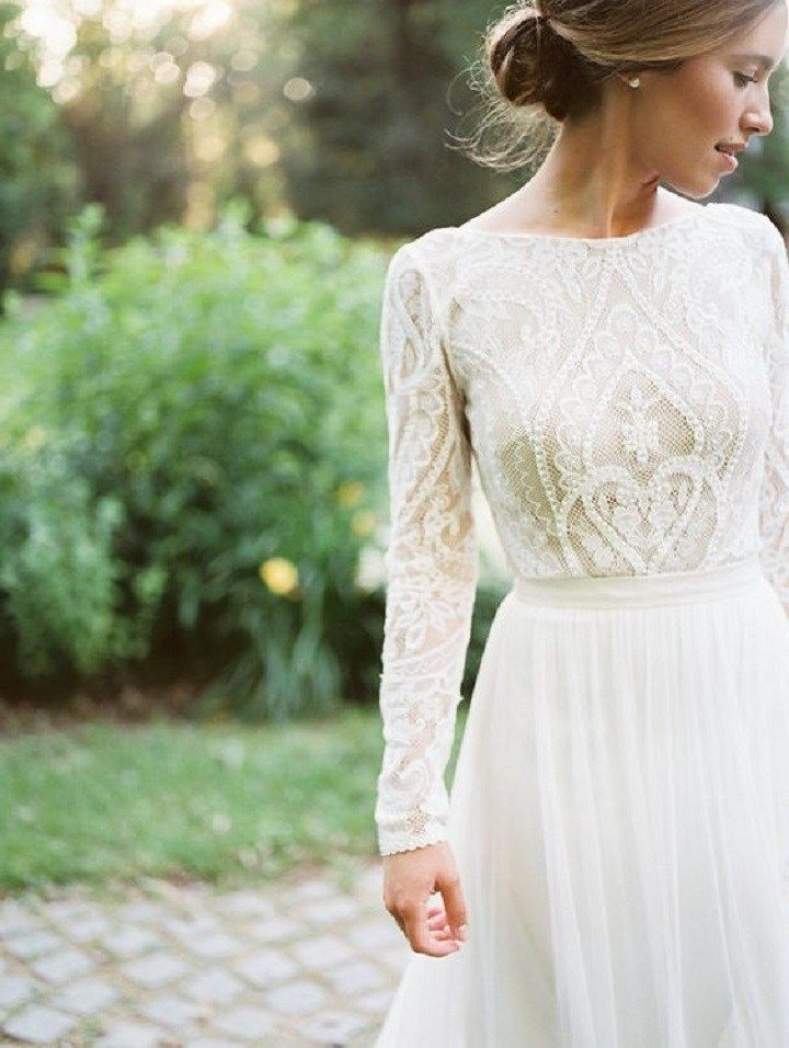 25 modest wedding dresses with long sleeves lds wedding Modest Lds Wedding Dresses