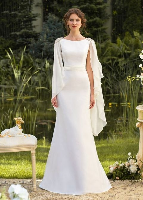30 flowing grecian styled wedding dresses grecian wedding Grecian Goddess Wedding Dress