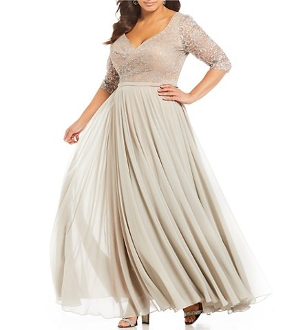 terani couture tan plus size wedding dresses bridal gowns Dillards Wedding Dress