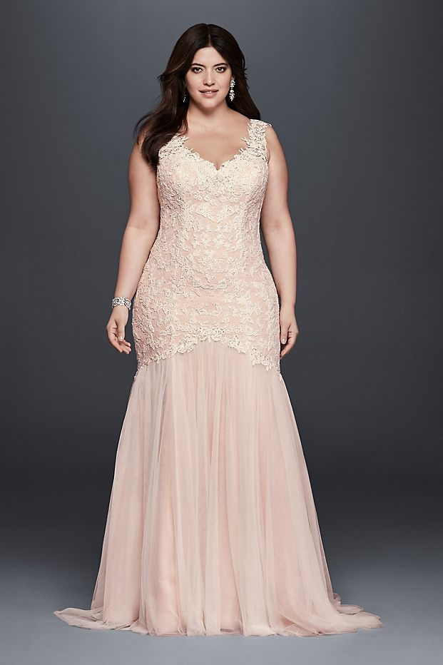 19 wedding dress styles for women with big busts who what wear Wedding Dresses For Big Busts
