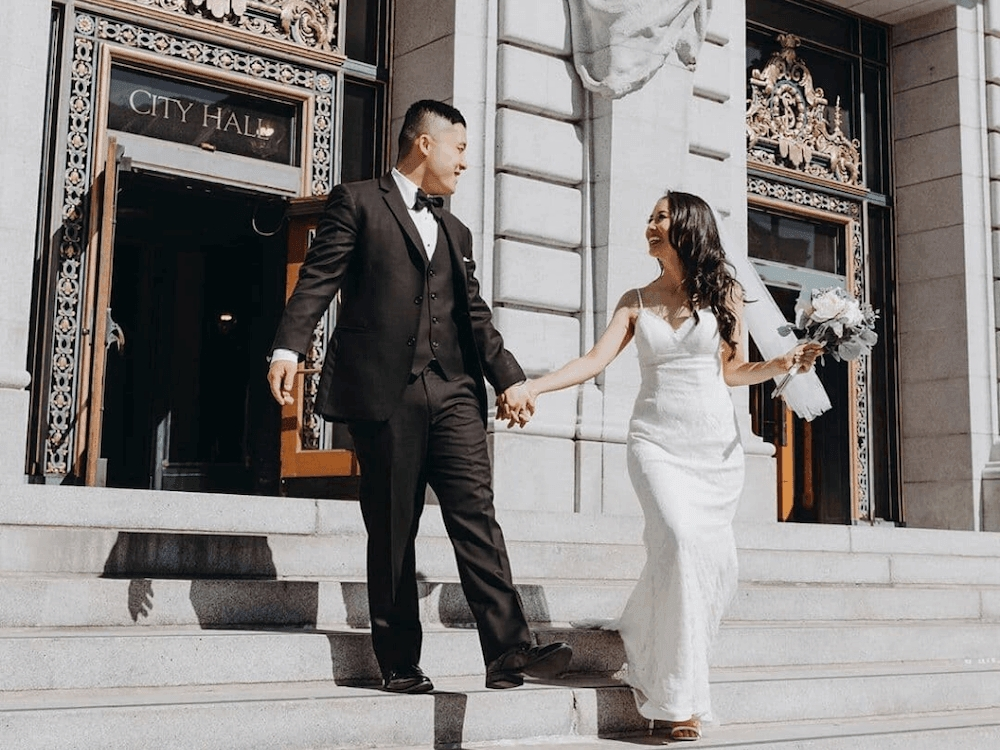 22 prettiest city hall wedding dresses and courthouse bridal Courthouse Wedding Dresses