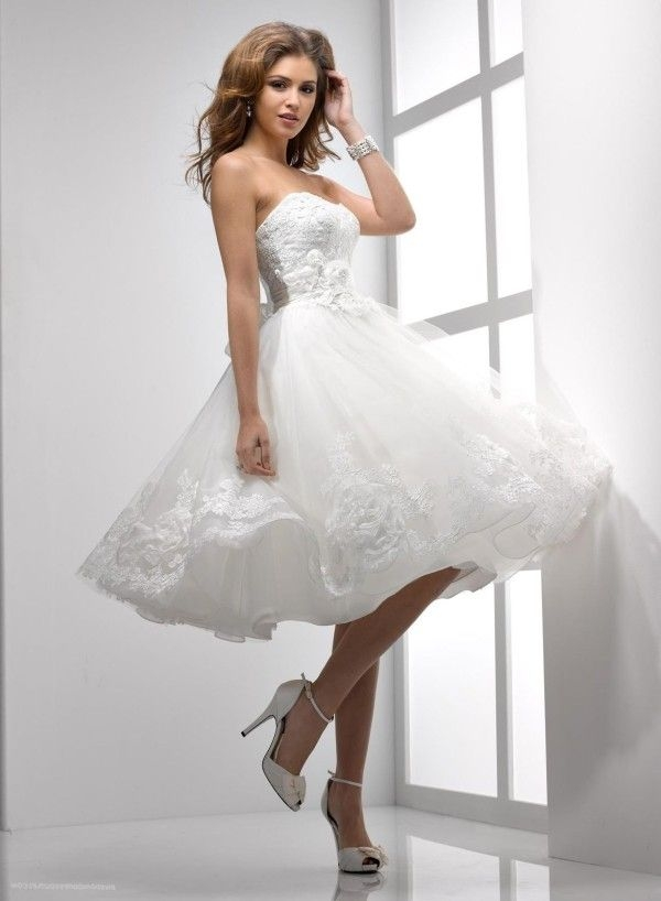 25 short beach wedding dresses poofy wedding dress mini Short Poofy Wedding Dresses