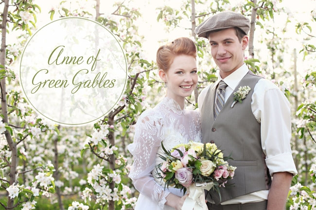 anne of green gables wedding inspiration green wedding shoes Anne Of Green Gables Wedding Dress