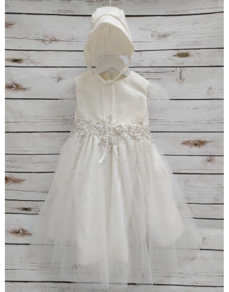 christening gown from wedding dress Christening Gown From Wedding Dress