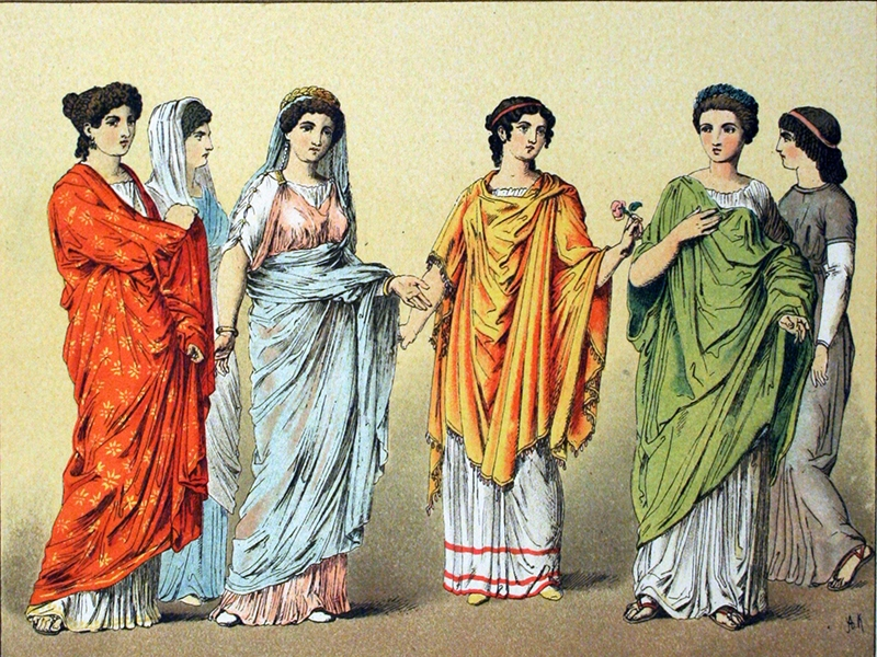 fashion in ancient rome togas underwear and wedding dresses Ancient Roman Wedding Dress
