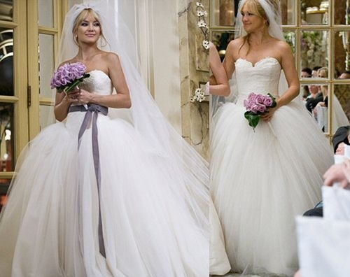 kate hudsons style in bride wars bride wars dress bride Kate Hudson Wedding Dress In Bride Wars