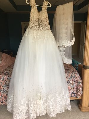 new and used wedding dress for sale in cary nc offerup Wedding Dresses Cary Nc